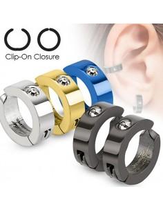 Boucles d'oreilles clipsables