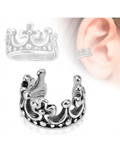 Faux bijou piercing couronne de roi