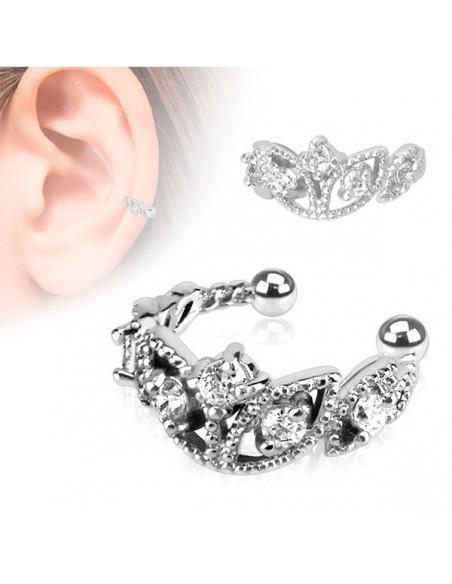 Faux bijou oreille décorer de brillant