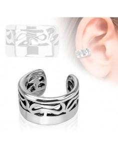 Faux bijou oreille gothique signe arrondi