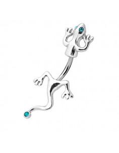 Piercing salamandre bijoux de nombril