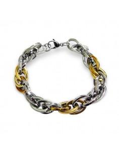 Bracelet fantaisie en plaqué Or de type anglais