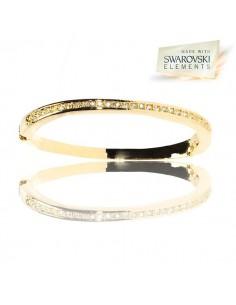 Bracelet jonc cristal Swarovski magnifique