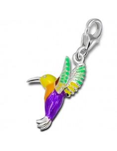 Charms oiseau colibri