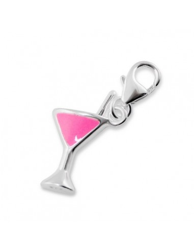 Charms pendentif coupe cocktail
