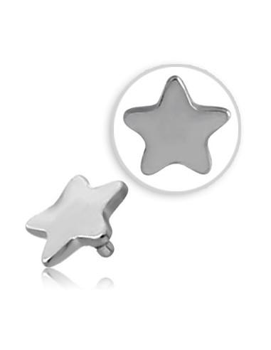 Accessoire piercing étoile à 5 branches