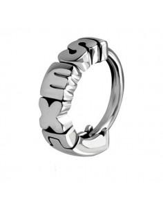 Piercing huggie anneau sexy