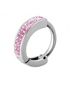 Huggie anneau zirconium