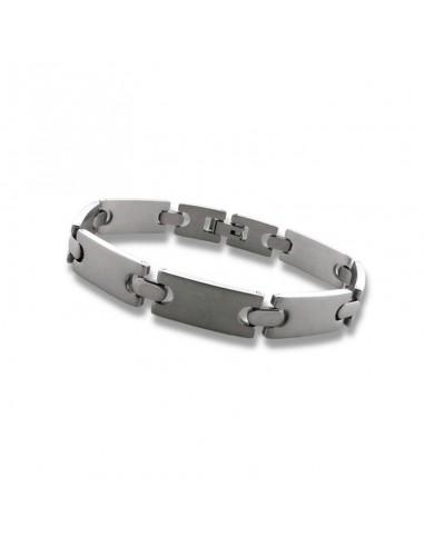 Bracelet métal brillant pour homme