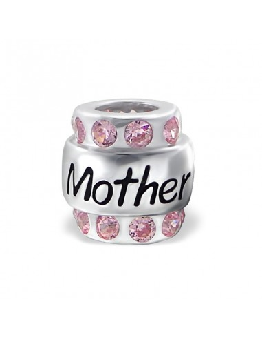 Charms argent marquer mother