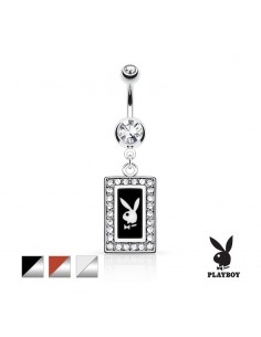 Piercing nombril Playboy cadre