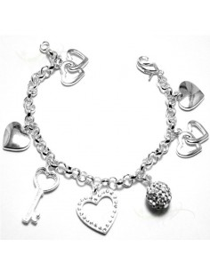 Bracelet avec pendentif -...