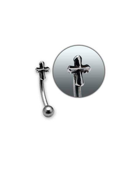 Piercing arcade croix DE FER
