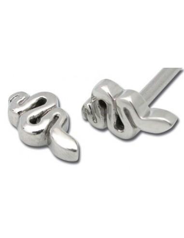 serpent pour accessoires barbell acier