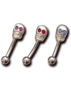 Piercing arcade tête de mort