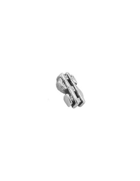Accessoire piercing fonte acier barre de 1.2 mm