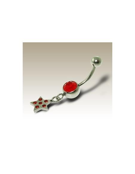 Bijou étoile pendentif - Piercing nombril