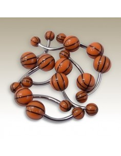 Piercing nombril ballon de basket