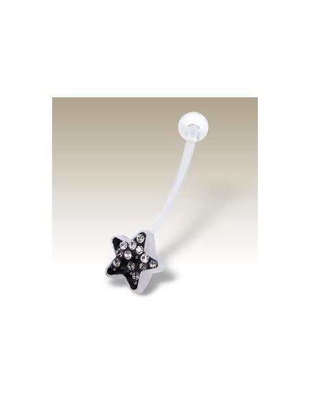 Piercing bioflex petite étoile