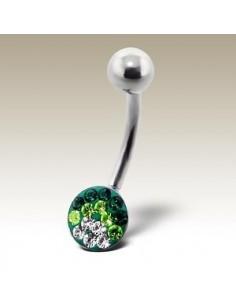 Piercing nombril boule Swarovski Ferido